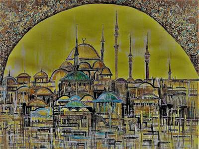 Painting - Istanbul by Anna Duyunova