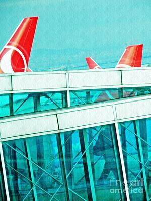 Photograph - Istanbul Ataturk Airport 2 by Sarah Loft