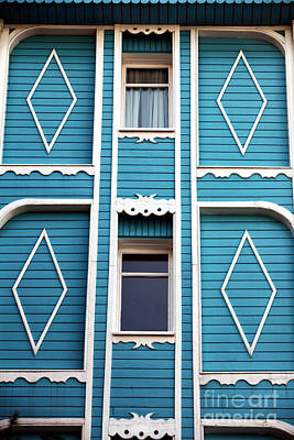 Istanbul Blue Print by John Rizzuto