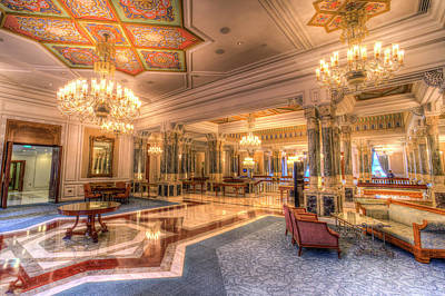 Photograph - Istanbul Ciragan Palace  by David Pyatt