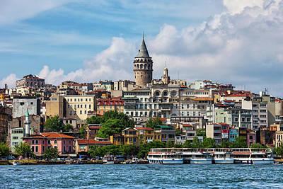 Photograph - Istanbul City Skyline by Artur Bogacki