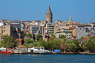 Photograph - Istanbul Cityscape by Sally Weigand