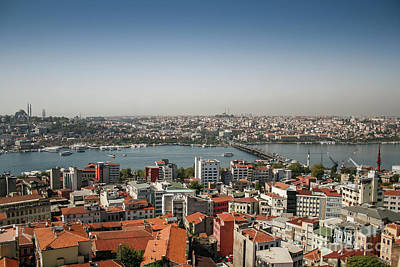 Photograph - Istanbul East And West by Patricia Hofmeester