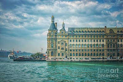 Photograph - Istanbul Haydarpasa Train Station by Antony McAulay