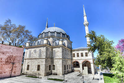 Photograph - Istanbul Mosque by David Pyatt