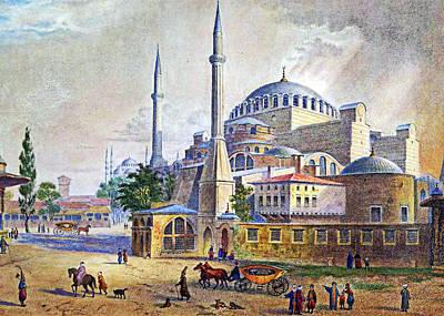 Orthodox Church Painting - Istanbul by Munir Alawi
