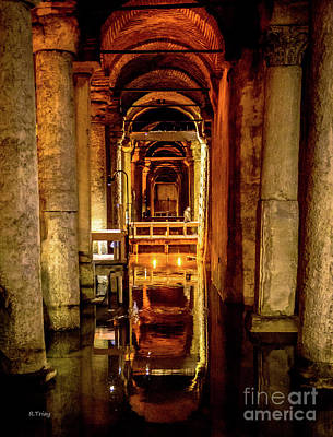 Photograph - Istanbul Underground Cistern 2 by Rene Triay Photography
