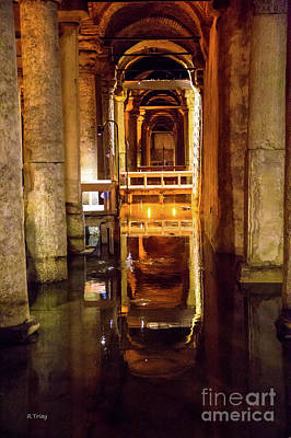 Photograph - Istanbul Underground Cistern 3 by Rene Triay Photography