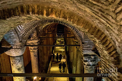 Photograph - Istanbul Underground Cistern by Rene Triay Photography