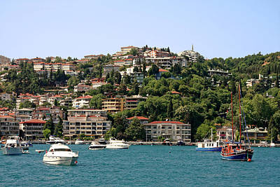 Photograph - Istanbul Waterside Scene by Sally Weigand