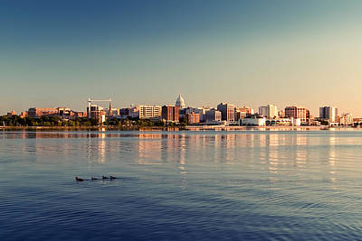 Madison Photograph - Isthmus by Todd Klassy