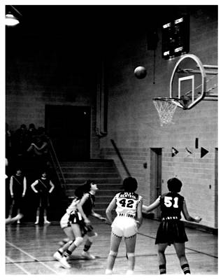 Photograph - Isu Womans Basketball by Kyle J West