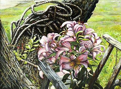 It A Jungle Art Print by Leo Malboeuf