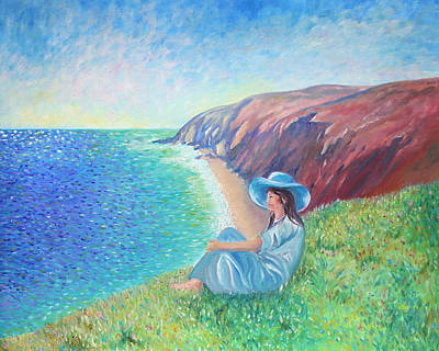 Art Print featuring the painting It Could Be Me by Elizabeth Lock
