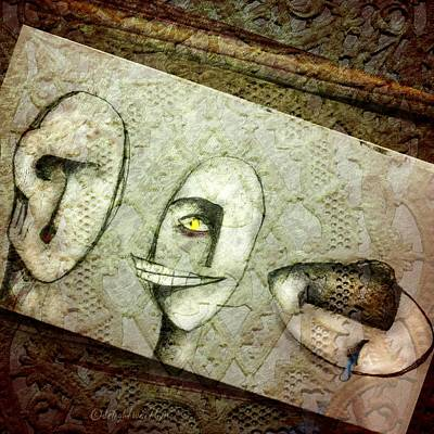 Digital Art - It Hurts To Hear by Delight Worthyn
