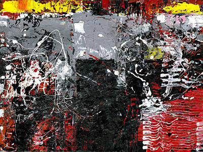 Painting - Constructing Order by Judith Barath