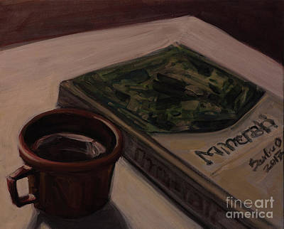 Painting - It Is Coffee Time by Olimpia - Hinamatsuri Barbu