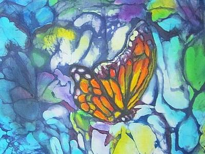 Hot Wax Painting - It Is Spring by Jennifer Raby