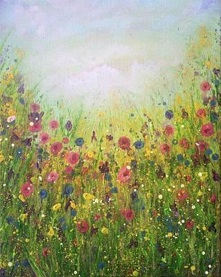 Painting - It Is The Common, Everyday Blessings Of Our Common Everyday Life by T Fry-Green