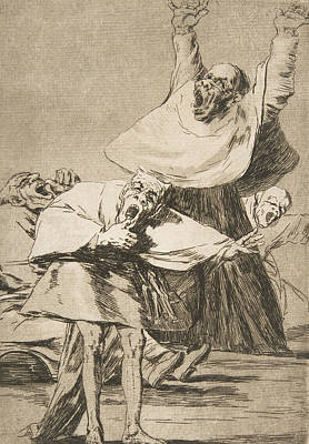 Relief - It Is Time by Francisco Goya