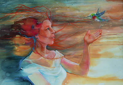 Painting - It Is Well With My Soul by Jani Freimann