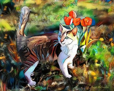 Digital Art - It Must Be Spring by Pennie McCracken