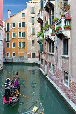 It Must Be Venice Print by Janet Fikar