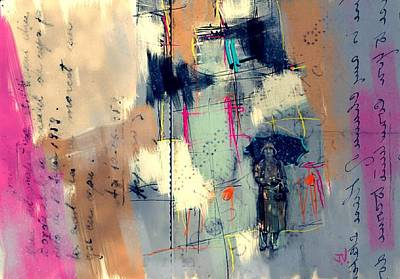 Painting - It Rains And It Pours by Jim Vance