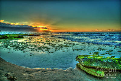 Photograph - It Rocks At Sunset The North Shore Hawaii Collection Art by Reid Callaway