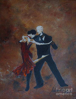 Painting - It Takes Two To Tango by Pristine Cartera Turkus