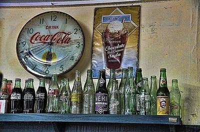 Coca-cola Signs Photograph - It Was Time For A Drink by Jan Amiss Photography