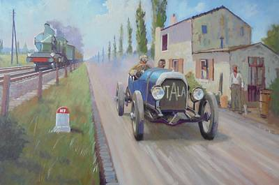 Painting - Italia 1905 In France by Mike Jeffries