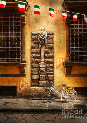 Photograph - Italia Cential Bicycle by Craig J Satterlee