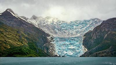 Photograph - Italia Glacier by Maria Coulson
