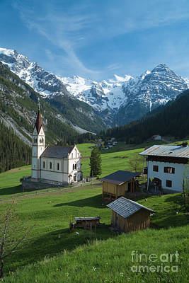 Photograph - Italian Alps Hidden Treasure by Jeffrey Worthington