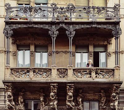Photograph - Italian Art Nouveau Architecture by Alexandre Rotenberg