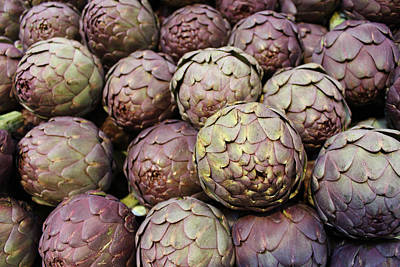 Italian Market Photograph - Italian Artichokes by Colleen Kammerer