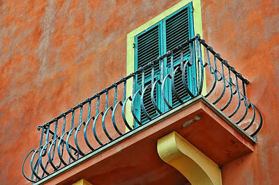 Photograph - Italian Balcony by Allen Beatty