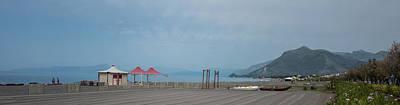 Photograph - Italian Beachscape by Jocelyn Kahawai