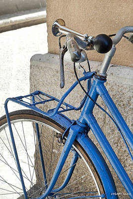 Italian Bike Print by Robert Lacy