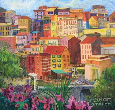 Painting - Italian City by Anne Dentler