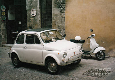 Photograph - Italian Classic Commute  by Frank Stallone