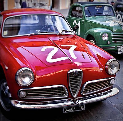 Italian Classics Alfa Romeo Art Print by Patrick English