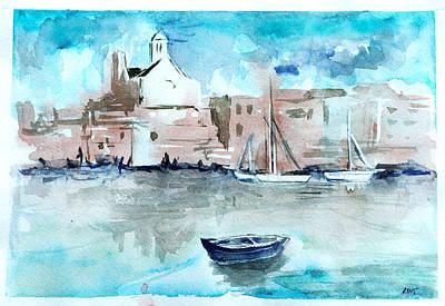 Painting - Italian Coast  by Alexandra-Emily Kokova