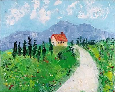 Italian Cottage Art Print