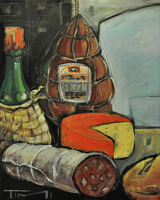 Painting - Italian Deli by Tim Nyberg