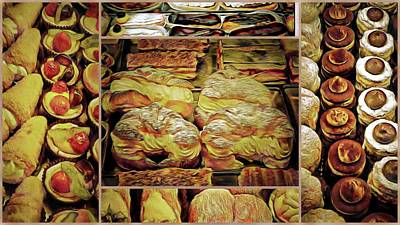 Photograph - Italian Delights Collage by Dorothy Berry-Lound