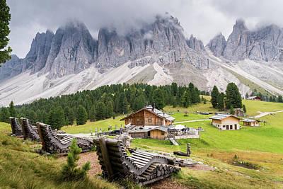 Photograph - Italian Dolomites by Alexandre Rotenberg