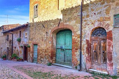 Photograph - Italian Door #1 by Jennifer Ludlum