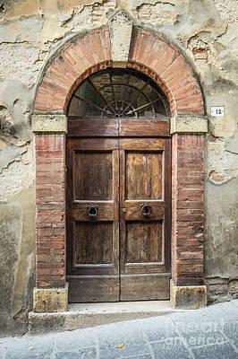 Photograph - Italian Door #10 by Jennifer Ludlum